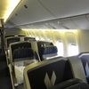 AA136 HND-JFK B777-200ER BusinessClass 10B「行き先はヴェネチア」