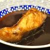 豊洲の「米花」で銀だら煮付け、蛸と海老といかの酢の物、きのこと昆布の佃煮。