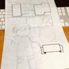 投稿用原稿用紙(商業用・B4)を家庭用A4スキャナで取り込む