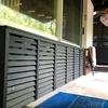 別荘DIY 美しい出窓下収納
