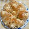 クリチと胡桃のメイプル風味パン(クック参考)&パン屋・パンのおもちゃ