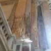 カゼルタ宮殿のパラティーナ礼拝堂の「傷跡」