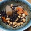 麦、豆、海藻の朝飯