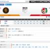 2019-08-01 カープ第99戦(東京ドーム)◯8対2 巨人(50勝46敗3分)ノムスケ6回1失点の好投で5勝目。坂倉、プロ初HR!