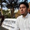 県民投票・元山代表、抗議のハンストと1・17前日の新年会