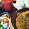 豊川市の茶そば藪そば