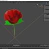 Blenderで配列モディファイアを利用して花を作る