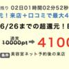 E-PARKヘアサロンネットを利用しました♫還元率4100円です!!利用してわかった、注意事項を解説します。
