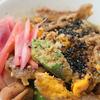 豚コマ胡麻丼弁当