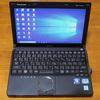 海外旅行にはWindowsパソコンが必要なのです。中古PC(パナソニック cf-j10)を購入してSSD換装してみたよ!