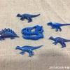 今日の恐竜バッチは失敗