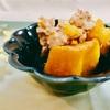 ホットクックレシピ♪かぼちゃと鶏ひき肉の煮物
