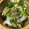 憶良(おくら)のポン酢イカオクラ、簡単レシピ