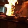 【らーめんてい立花】目の前で燃えるラーメンが、食欲をそそり身体を暖めてくれました
