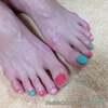 フットメニューキャンペーン開催中♡3色のスプリングパステルネイル☆フットスペシャルケアカラー