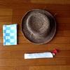【小粋な3点セット】夏の装いに帽子、扇子、手ぬぐいはいかが?