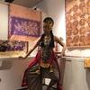 バティック展でのジャワ舞踊公演