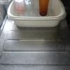【処分】台所の水切りカゴを処分しました。