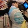 ギプス装着③入院(2歳9ヶ月と22日目)