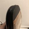 UNION WORKSで革靴の修理:カルミナのつま先をラバーで修理しました。