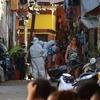 セブITパークの目と鼻の先Barangay Luzがコロナウイルス感染者の増加で完全封鎖 Σ( ̄ロ ̄lll)ガーン