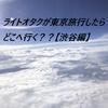 ライトオタクが東京旅行をしたらどこへ行く??【渋谷編】