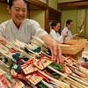 四山神社で破魔矢作り