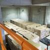船橋市防災備蓄センターを訪問