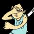 筋肉注射をする人 のイラスト