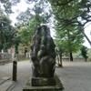小山諏訪神社の狛犬
