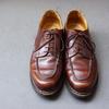 靴を磨く~パラブーツ・シャンボード