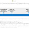 Microsoft 365 Internet Explorer 11 からのアクセスが EOS となります