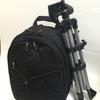 Amazonベーシック カメラリュック 21.1L 一眼レフ用 ブラック