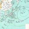 1980年に関東に近づいた台風