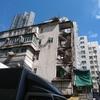 香港では珍しい(と思う。) 階段が剥き出しの建物・石硤尾