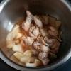 ホットクックで手羽元と大根の煮物のレシピに挑戦!無水カレーコースで肉はホロホロ、大根は味が染みて美味しいです。