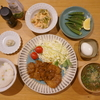 2月27日(火)よるごはん + ねこ