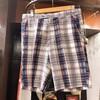 men's check Shorts !!