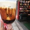 横浜中華街【TEA TIME】の黒糖タピオカミルクティー