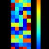 matplotlibのimshowでヒートマップを高速描画する際の縦横比(アスペクト比) 調整