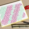 【Zentangle】Paradox Tessellations(パラドックス・テッセレーション)