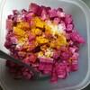紫大根の甘み×マスタードシードの香ばしさに満たされるアチャール…作ってみたかんたんレシピ記録