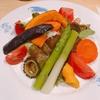 殿堂入りのお皿たち その227【おまかせ亭 の 野菜の冷やしカレー】