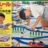 【プラレール】ライト付ひかり ニュー立体交差セット(1989年版)