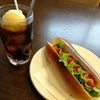 NHKのばらえ亭のホットドッグ