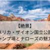 【人気上昇中!】アメリカ・ザイオン国立公園のキャンプ場とナローズの魅力!