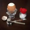 ゆで卵が楽しくなる エッグカッター♪(エッグハンマー)