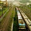 横浜市栄区の貨物線