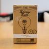 フィラメント電球のような加工のLED電球「エジソン バルブLED E26」を買いました。