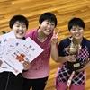 三重県高校学年別卓球大会・女子2年生の部 結果から